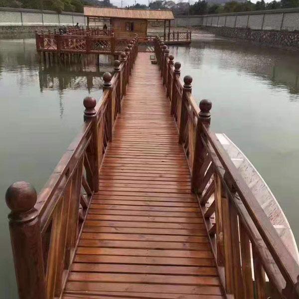 济南防腐木木桥