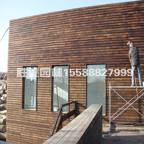 防腐木外墙