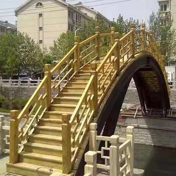 防腐实木木桥
