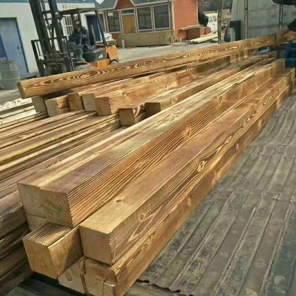 济南防腐碳化木