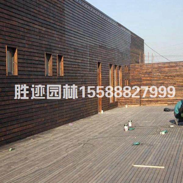 东营防腐木地板外墙