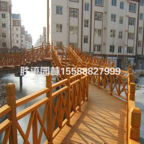 聊城防腐木围栏