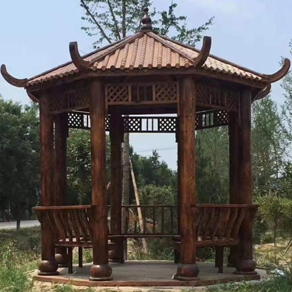 滨州防腐木凉亭