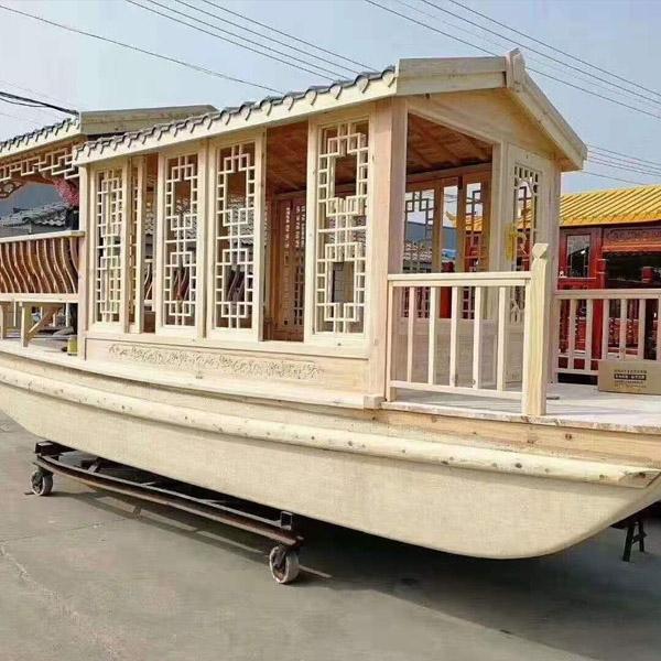 防腐木木船
