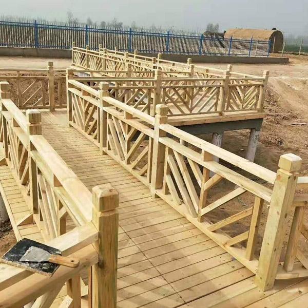 济南防腐木围栏