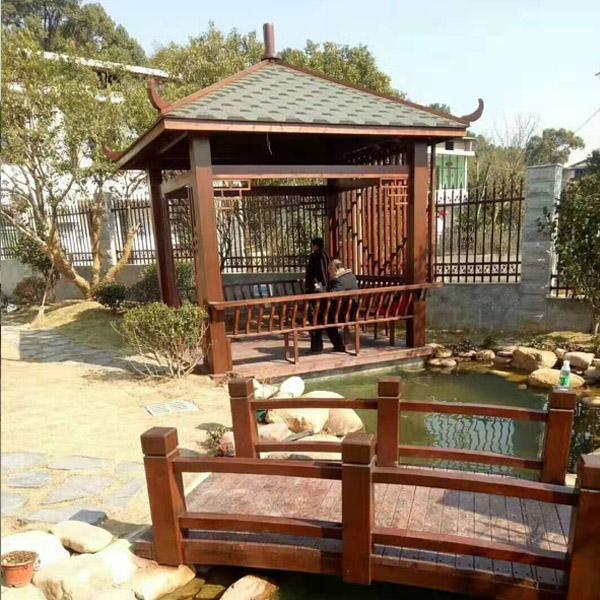 莱阳防腐木凉亭