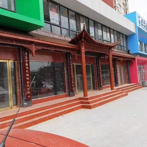 潍坊防腐木门楼