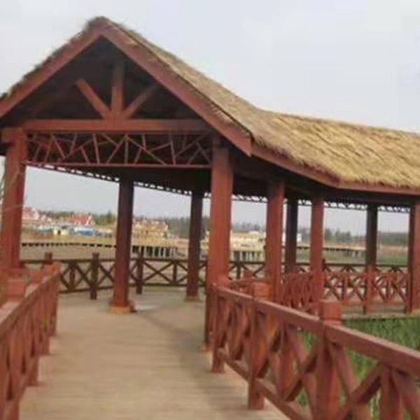 淄博防腐木长廊