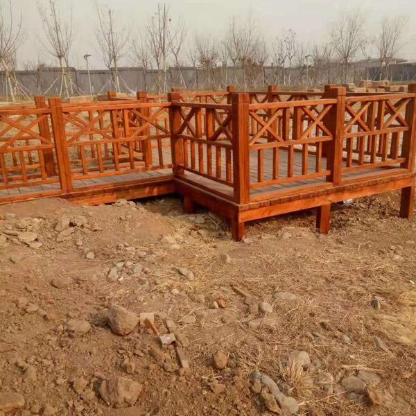 家庭防腐木围栏