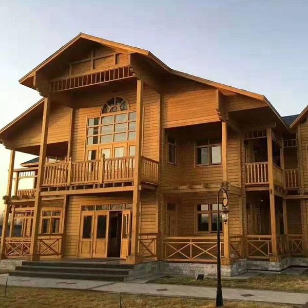 德州防腐木房屋