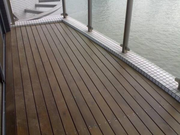 露台防腐木地板