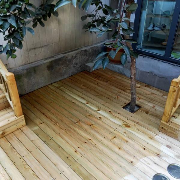 济南防腐木地板