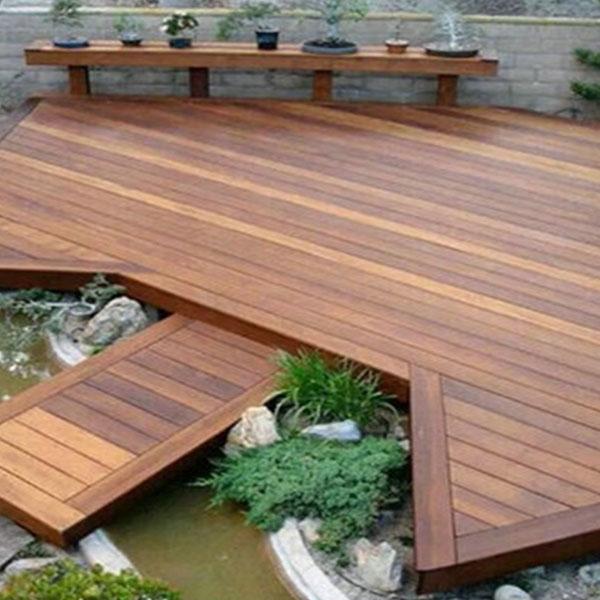 室外防腐木材