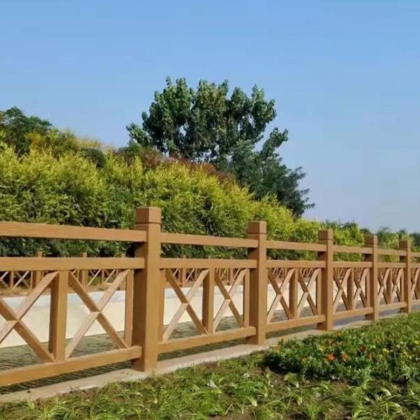 室外防腐木护栏